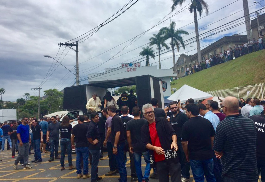 Policiais Civis apoiam movimento da sociedade pela Segurança Pública