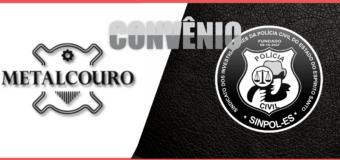 CONVÊNIO METALCOURO – DISTINTIVOS INVESTIGADOR DE POLÍCIA CIVIL ES