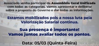 CONVOCAÇÃO! DIA 05