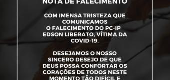 NOTA DE FALECIMENTO: PC-IP Edson Liberato
